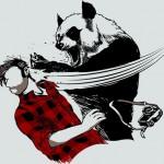 Panda bitchslap